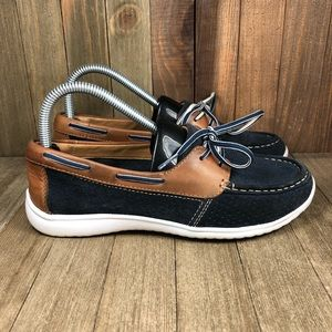 Clarks Arbor Opal Boat Shoes Womens Size 7.5